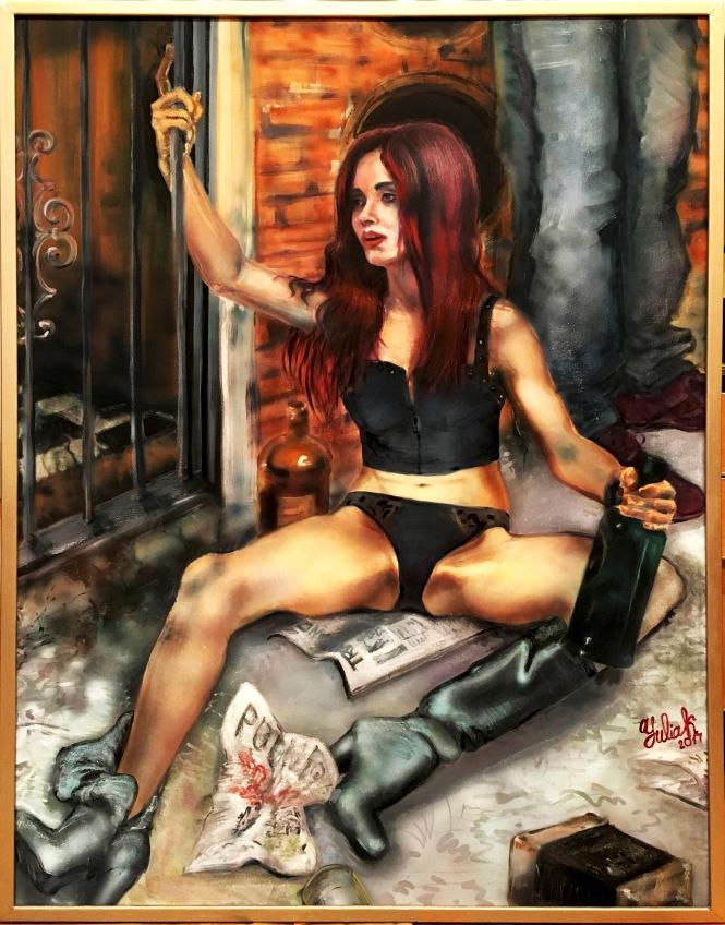 Prostitute (version 2), 64.5x 49
