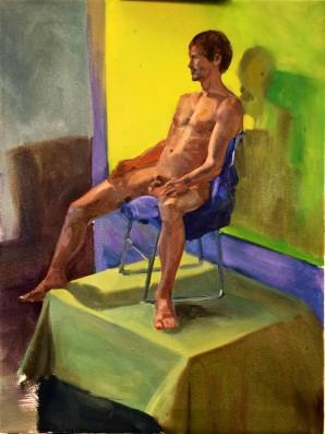 Human Figure, color study.