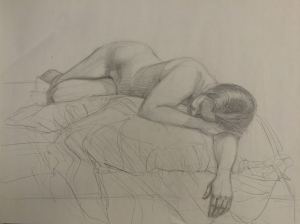 Human figure drawing.